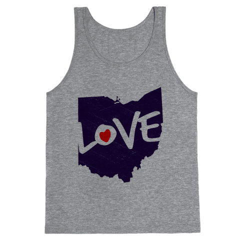 Love Ohio Tank Top