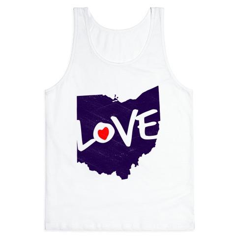 Love Ohio Tank Top