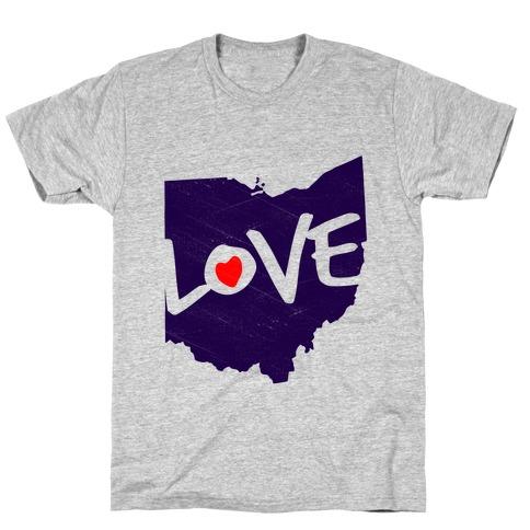 Love Ohio T-Shirt