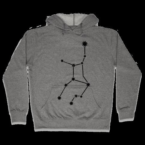 Virgo (Tank) Hooded Sweatshirt