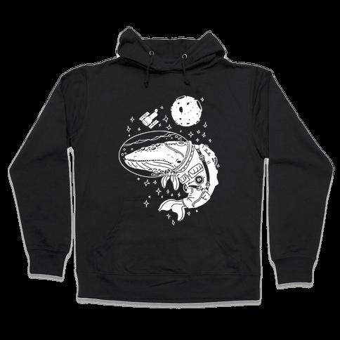 Space Whale  Hooded Sweatshirt