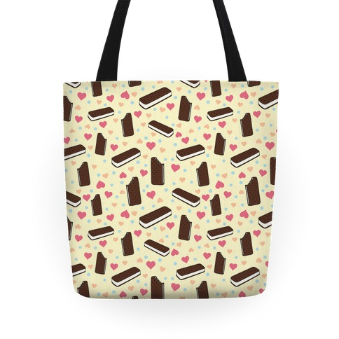 Ice Cream Sandwich Pattern Tote Tote