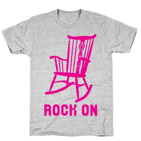 Rock On Rocking Chair T-Shirt