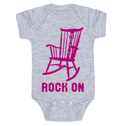 Rock On Rocking Chair Baby Onesy