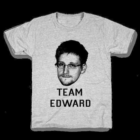 Team Edward Kids T-Shirt
