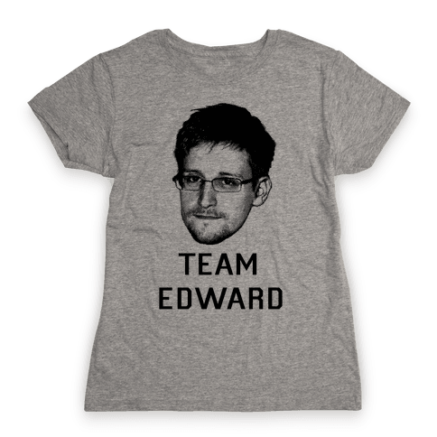 Team Edward Womens T-Shirt