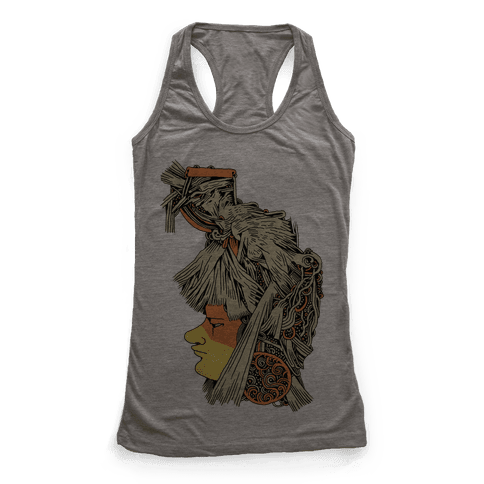 Headdress Racerback Tank Top