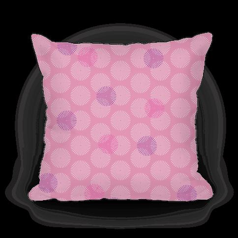 Pink Radial Mandalas Pattern