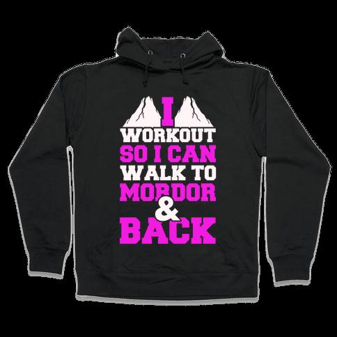 Workout Fellowship Style Hooded Sweatshirt