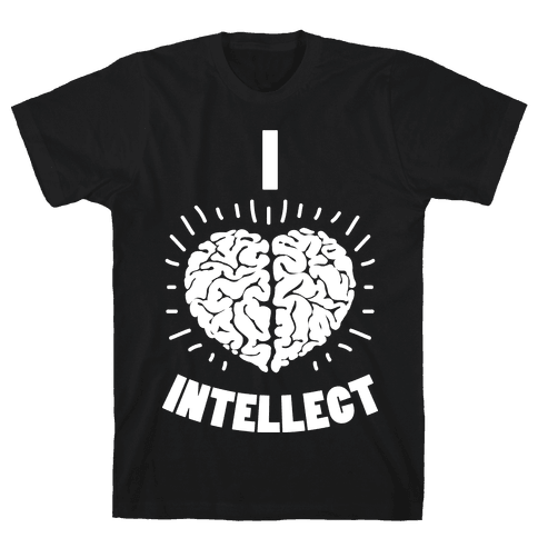 I Heart Intellect Mens T-Shirt