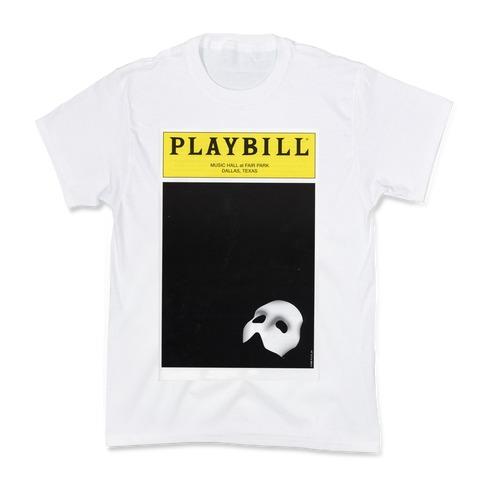 Phantom Playbill Kids T-Shirt
