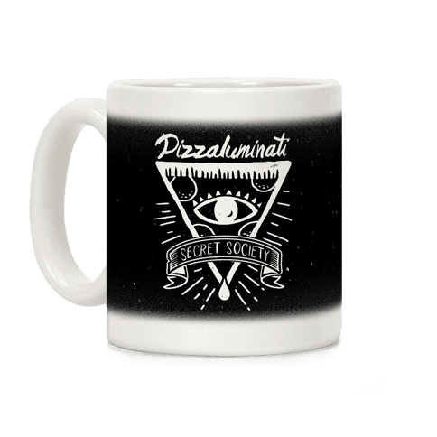 Pizzaluminati Secret Society Coffee Mug