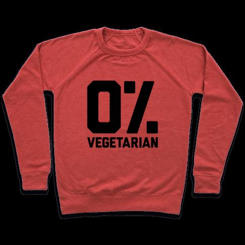 0% Vegetarian Pullover