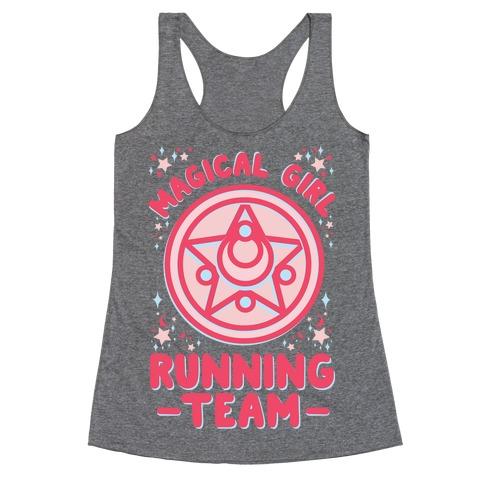 Magical Girl Running Team Racerback Tank Top