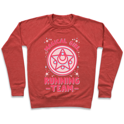 Magical Girl Running Team Pullover