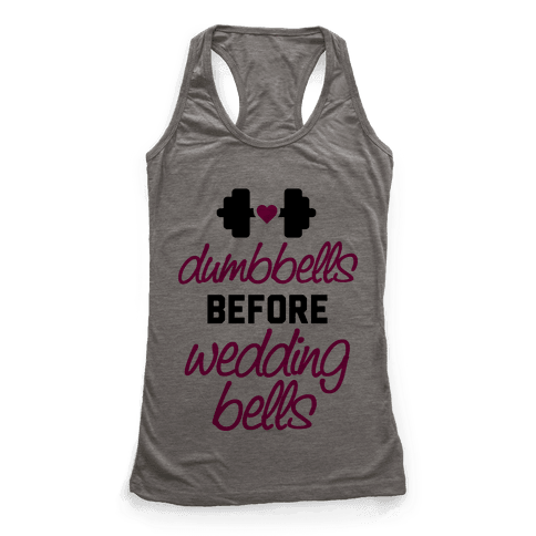 Dumbbells Before Wedding Bells