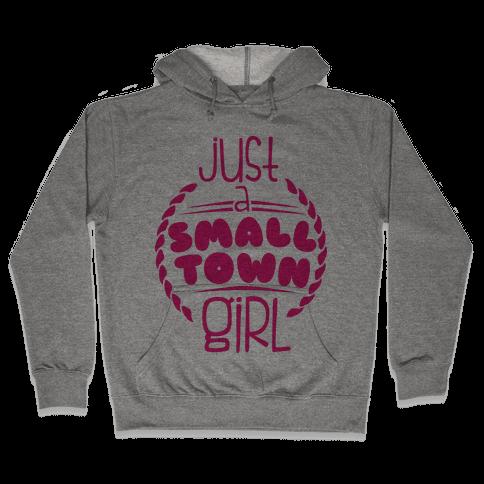 Small Town Hooded Sweatshirt