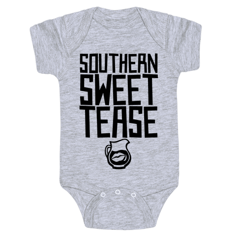 Southern Sweet Tease Baby Onesy