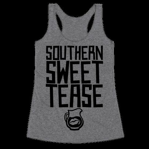 Southern Sweet Tease Racerback Tank Top