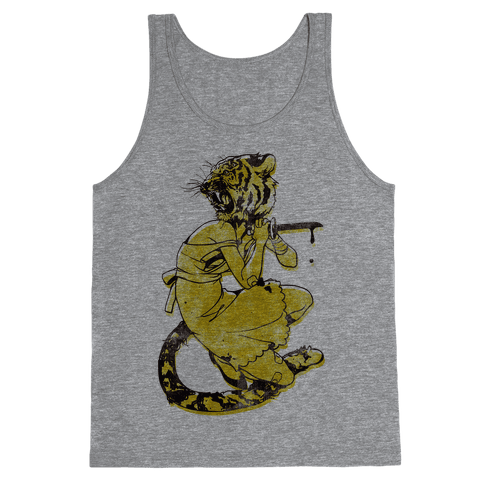 Tiger Woman Tank Top