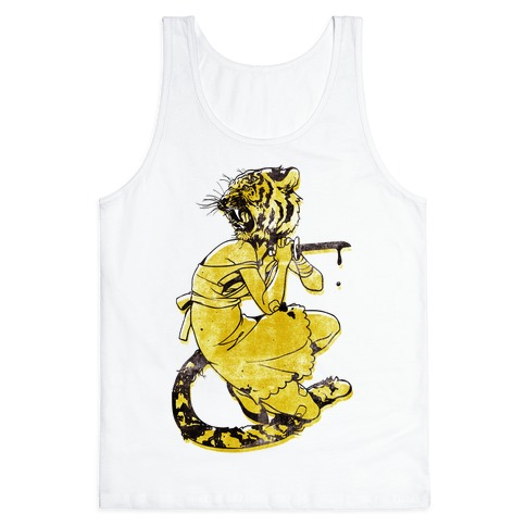 Tiger Woman Tank Top