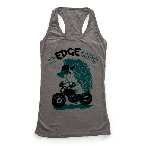 h-EDGE-hog Racerback Tank Top