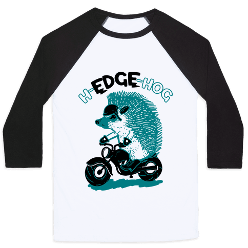 h-EDGE-hog Baseball Tee