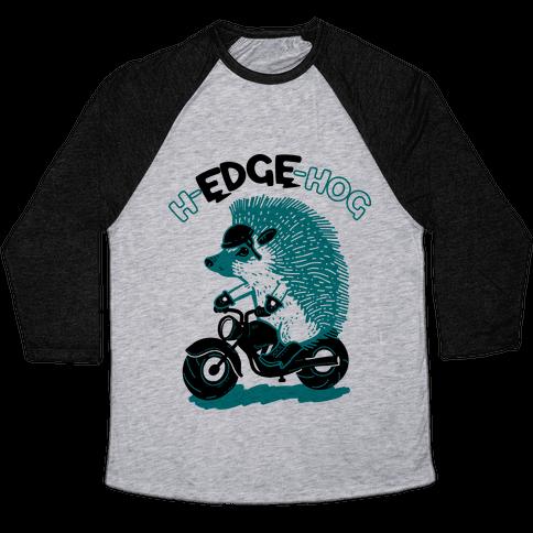 h-EDGE-hog Baseball Tee