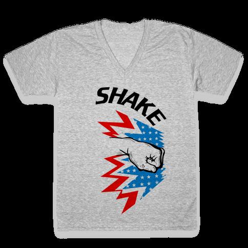 Shake and Bake (Pt.1) V-Neck Tee Shirt