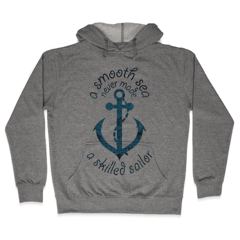 Smooth Sea Anchor Hooded Sweatshirt
