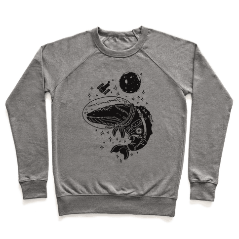 Space Whale  Pullover