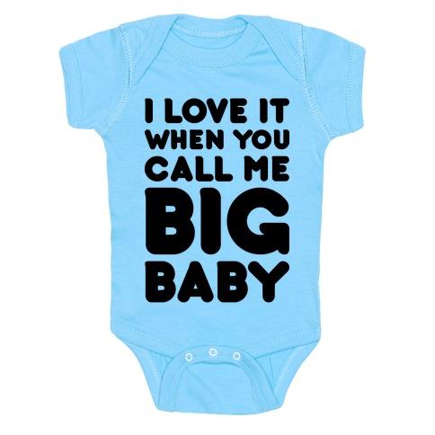 Big Baby Baby Onesy