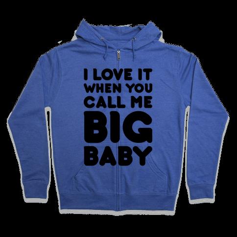 Big Baby Zip Hoodie