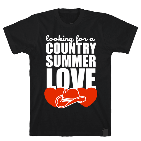 Country Summer Love (Dark Tank) Mens T-Shirt