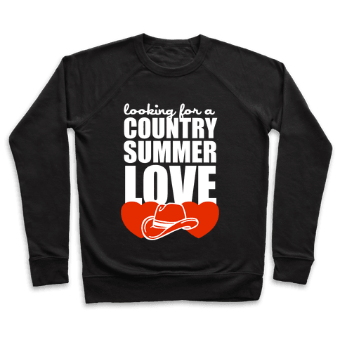 Country Summer Love (Dark Tank) Pullover