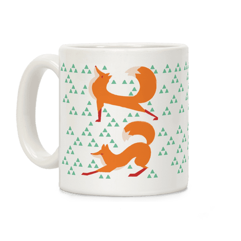 Fox Yoga Coffee Mug