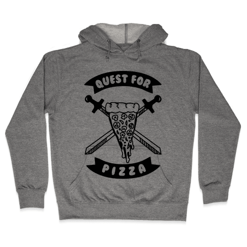 Quest for Pizza Hooded Sweatshirt