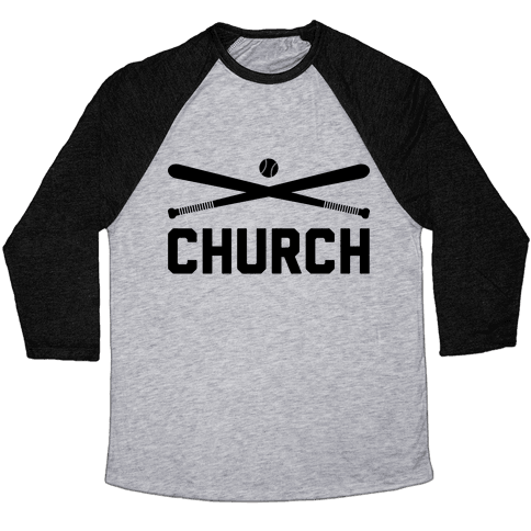 Baseball Church Baseball Tee