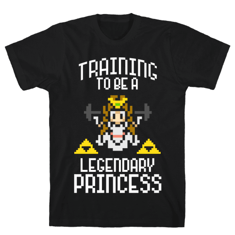 Training To Be A Legendary Princess Mens T-Shirt