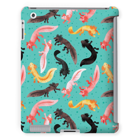 Cute Bright Axolotl Pattern