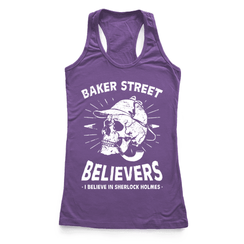 Baker Street Believers Racerback Tank Top