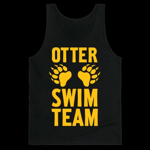 Otter Swim Team Tank Top