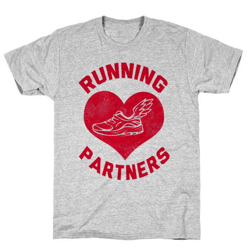 Running Partners Mens T-Shirt
