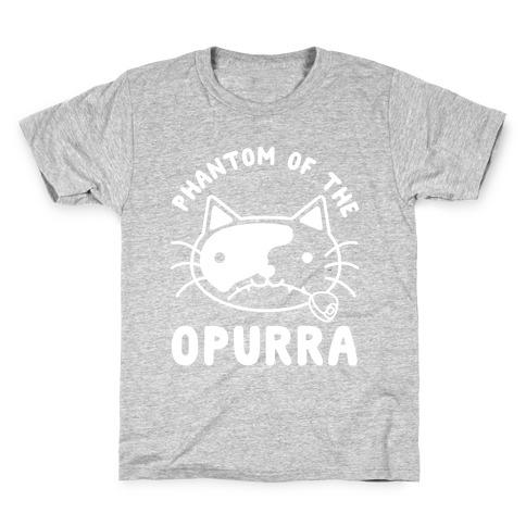 Phantom of the Opurra Kids T-Shirt