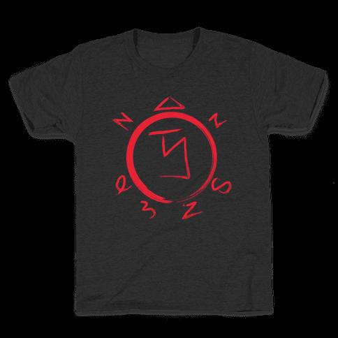 Angel Banishing Sigil Kids T-Shirt
