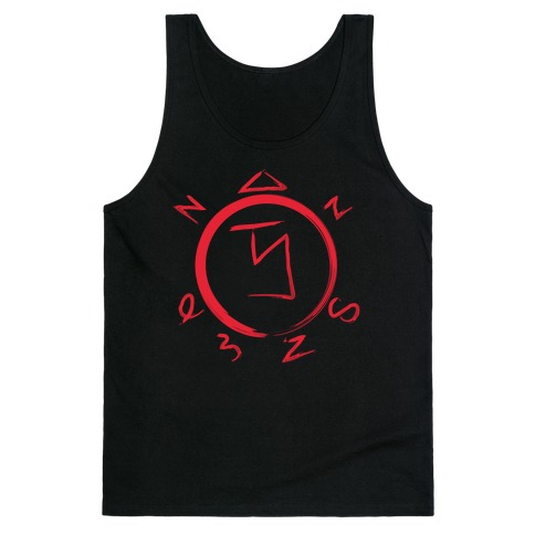 Angel Banishing Sigil Tank Top