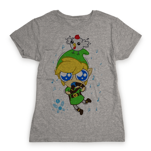 Chibi Link Womens T-Shirt