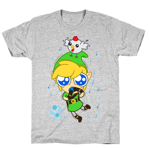Chibi Link Mens T-Shirt