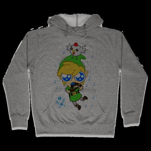 Chibi Link Hooded Sweatshirt