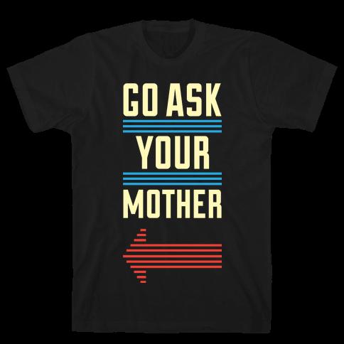 Ask Pair (Dad) Mens T-Shirt